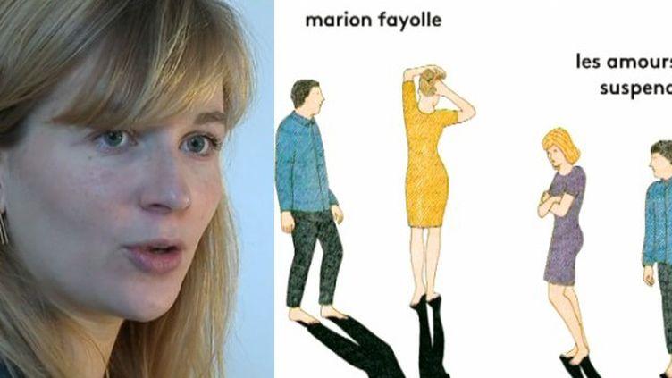 """Marion Fayolle auteur du livre """"Les amours suspendues"""", la première BD comédie musicale primée à Angoulême  (France 3 / Culturebox )"""