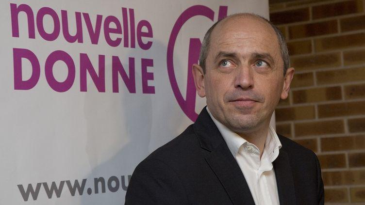 L'eurodéputé, membre du parti Nouvelle Donne et économiste Pierre Larrouturou. (CITIZENSIDE/NICOLAS KOVARIK / CITIZENSIDE.COM)