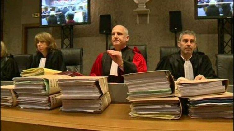 La cour d'assisesdu Var à Draguignan. (FRANCE 3 COTE D'AZUR)