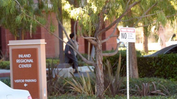 (Fusillade à San Bernardino, en Californie, dans un centre d'aide sociale © Sipa/Doug Saunders)