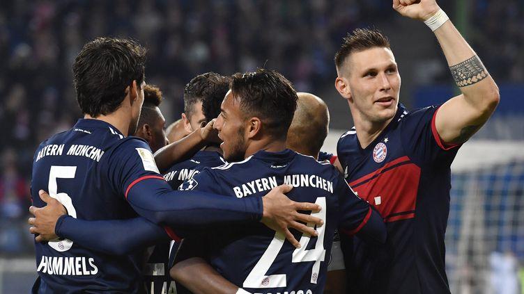 Le Bayern a rejoint Dortmund en tête de Bundesliga (JOHN MAC DOUGALL,JOHN MACDOUGALL / AFP)