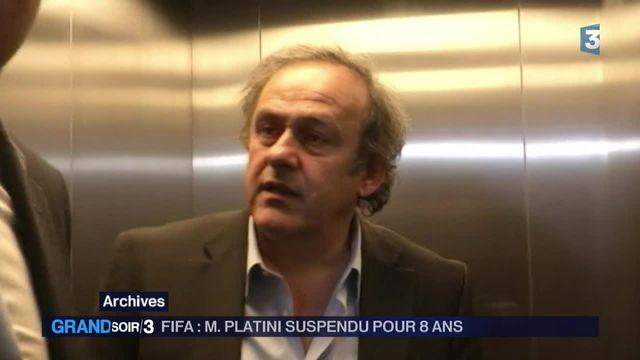 Michel Platini suspendu huit ans par la Fifa