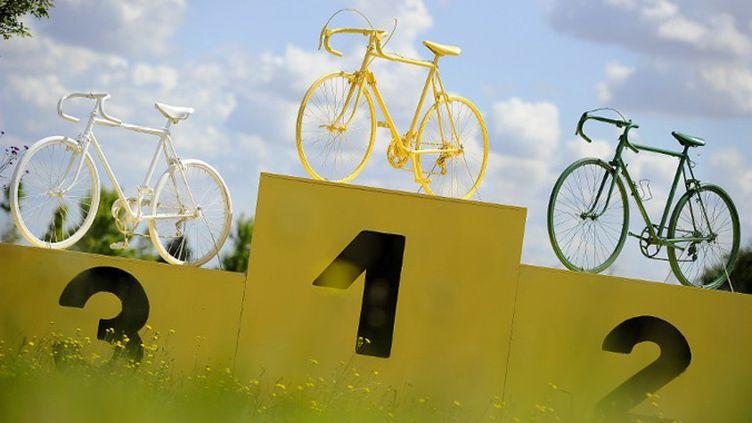 Le podium du public du Tour de France