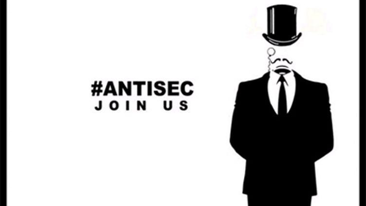 Tract pour l'opération #Antisec menée par les Anonymous et les anciens de Lulzsec (DR)