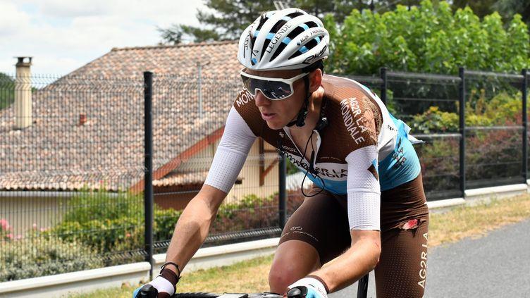 Romain Bardet sur la Route d'Occitanie 2020. (LAURENT DARD / MAXPPP)