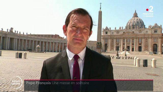 """""""Urbi et orbi"""" : le pape François demande la levée des sanctions internationales en période de pandémie"""