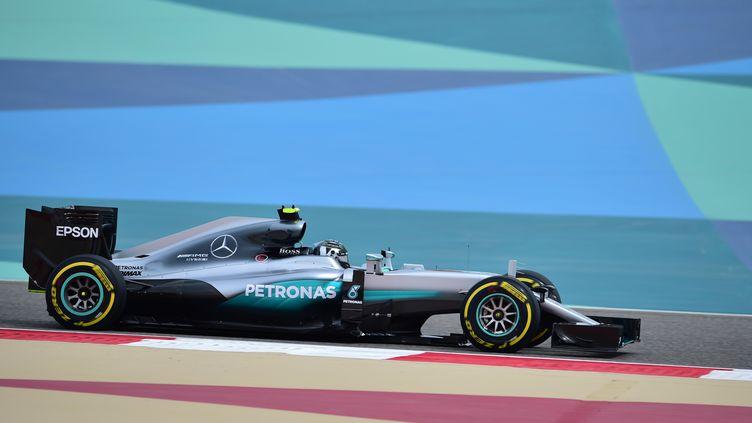 L'Allemand Nico Rosberg (Mercedes) (ANDREJ ISAKOVIC / AFP)