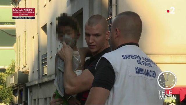 Incendie à Aubervilliers : 22 blessés dont cinq enfants