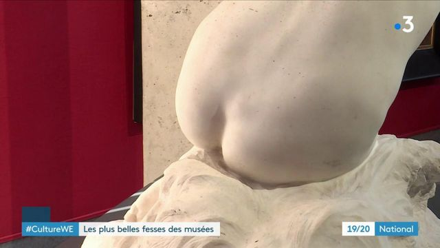 Culture : un concours pour élire les plus belles fesses sculptées des musées