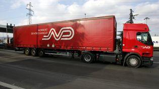 La société XPO Logistics rachète le transporteur français Norbert Dentressangle pour donner naissance à un géant mondial du transport et de la logistique. (MAXPPP)