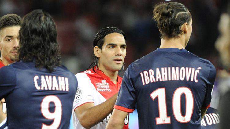 Edison Cavani, Radamel Falcao et Edison Cavani, les stars du championnat de France (JEAN MARIE HERVIO / DPPI MEDIA)