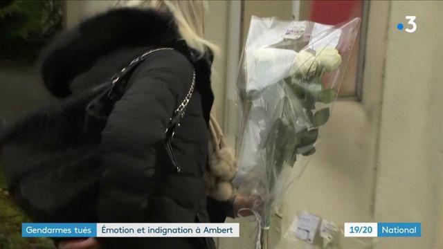 Gendarmes tués dans le Puy-de-Dôme : une vive émotion dans un village meurtri
