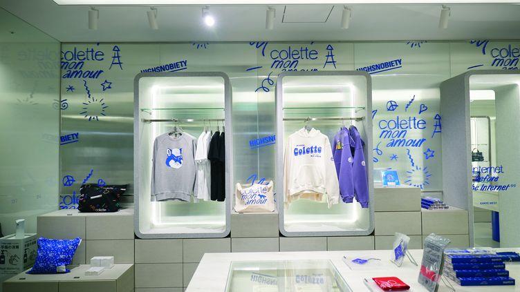 Pop-up store colette à Tokyo au Japon. 2020 (NAE.JAY.E)