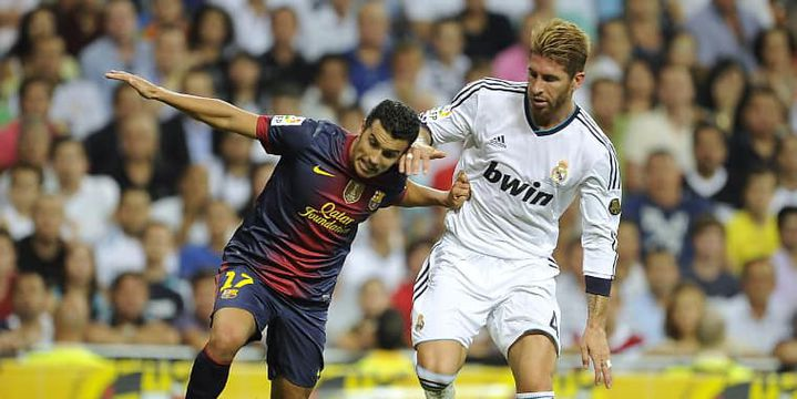 Pedro et Sergio Ramos