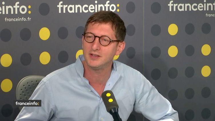 Ariel Weil, maire PS du 4e arrondissement de Paris, était l'invité de franceinfo jeudi 25 juillet 2019. (FRANCEINFO)