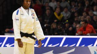 La française Marie-Ève Gahié, numéro 1 mondiale des -70 kg, a été battue dès son premier combat aux Championnats d'Europe, samedi 17 avril.  (YOANN CAMBEFORT / YOANN CAMBEFORT)