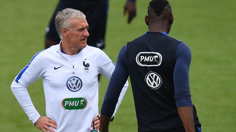 Didier Deschamps, photographié ici le 21 juin à Clairefontaine (Yvelines), est dans l'expectative avant les huitièmes de finale de l'Euro (FRANCK FIFE / AFP)