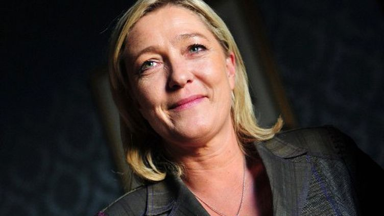 Marine Le Pen sera la candidate du Front national à l'élection présidentielle de 2012 (AFP)