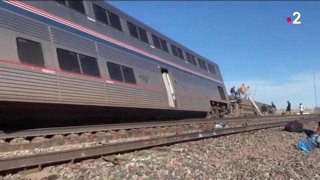Etats-Unis : un train déraille dans le Montana, deux passagers décèdent