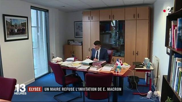 Élysée : un maire refuse l'invitation d'Emmanuel Macron
