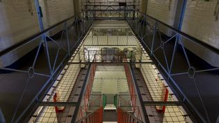 La prison de Reading, près de Londres, le 1er septembre 2016 (JUSTIN TALLIS / AFP)