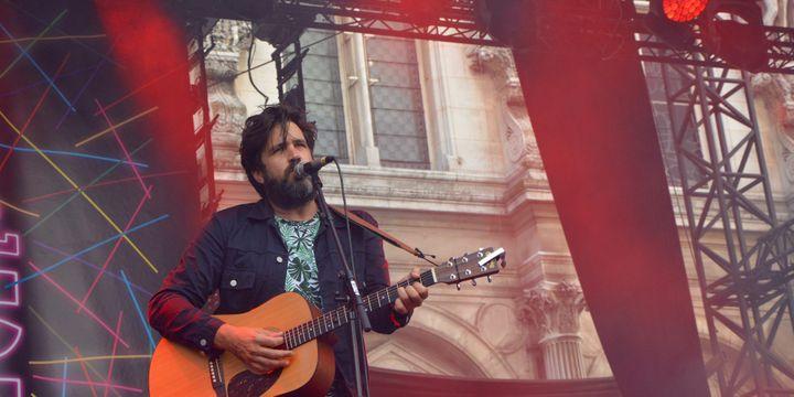 Helmut Tellier, de la Maison Tellier au Fnac Live Festival (Paris).  (Adrien Morcuende / Culturebox)