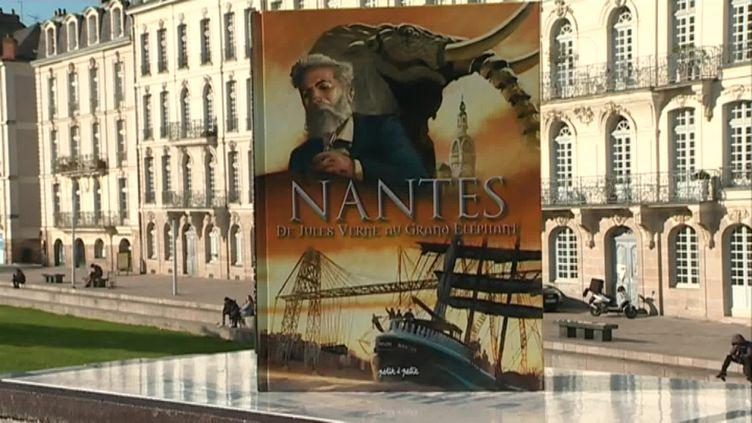 """Troisième tome de la BD-Docu """"Nantes"""" écrit par Stéphane Pajot (France 3 Nantes)"""