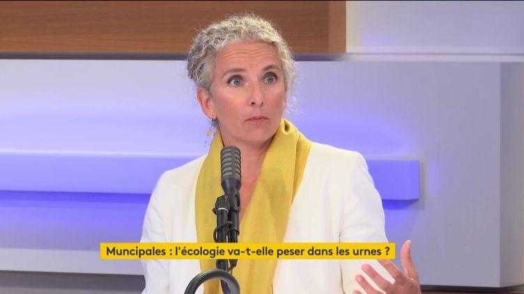 Delphine Batho, députée des Deux-Sèvres, invitée du 18H50 franceinfo, le mardi 23 juin 2020. (RADIO FRANCE)
