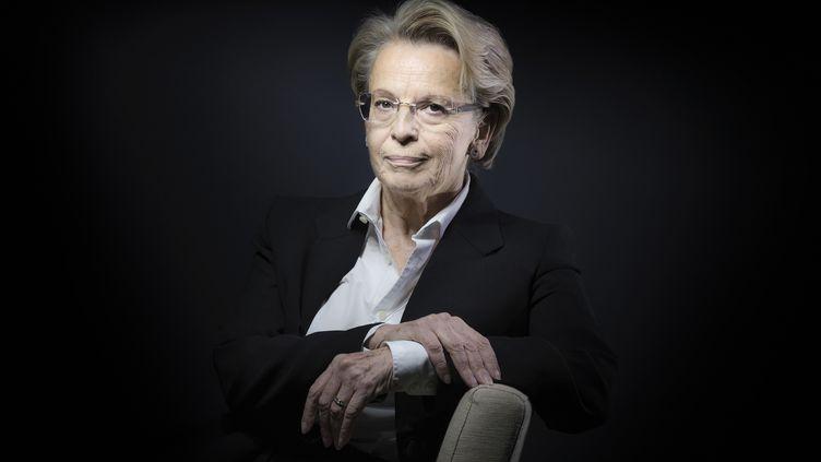 Michèle Alliot-Marie, le 21 décembre 2016 à Paris. (JOEL SAGET / AFP)