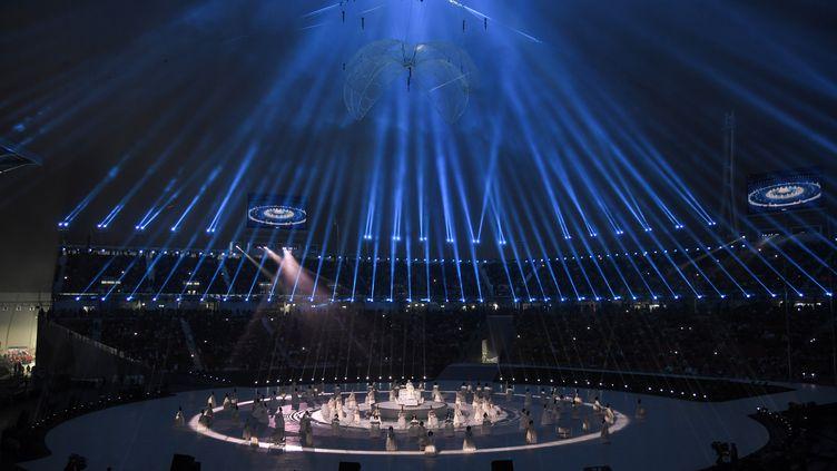 La cérémonie d'ouverture des paralympiques de PyeongChang (ED JONES / AFP)