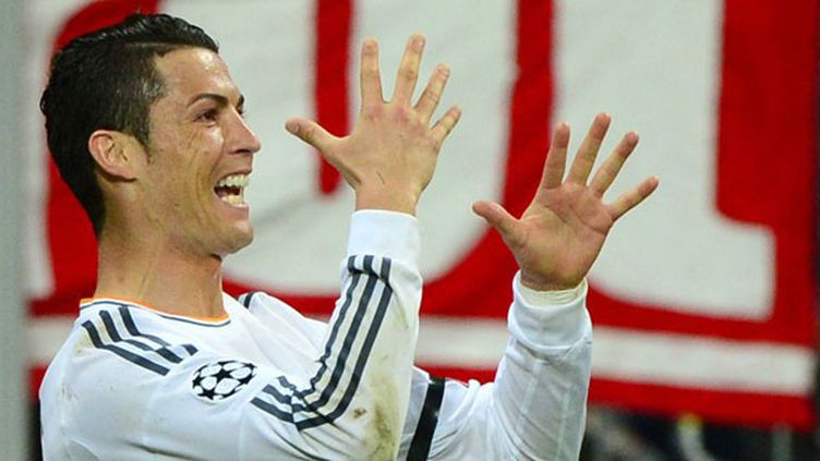 L'ailier du Real Madrid, Cristiano Ronaldo