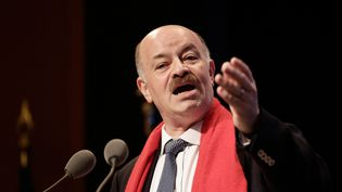 Alain Bauer aux Assises nationales de la recherche stratégique, le 21 novembre 2014. (VINCENT ISORE / MAXPPP)