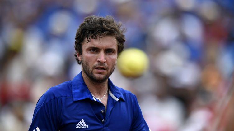 Gilles Simon s'est fait peur en Coupe Davis (MIGUEL MEDINA / AFP)