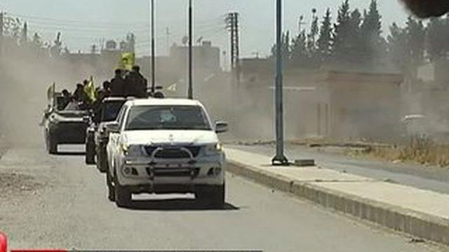 Syrie : les forces kurdes prennent le contrôle d'une ville stratégique