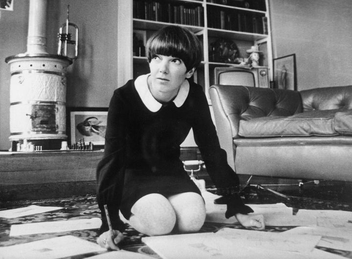 Mary Quant en 1965  (GettyImages)