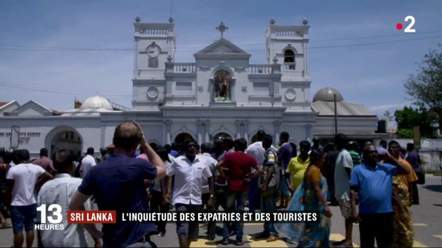 Attentats au Sri Lanka : expatriés et touristes inquiets au lendemain du drame