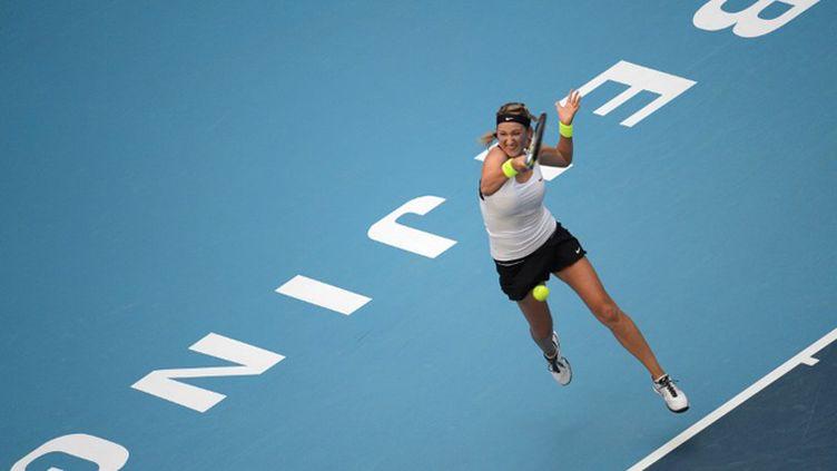 La joie de Victoria Azarenka (GOH CHAI HIN / AFP)