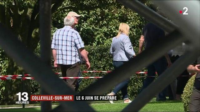 Normandie : Colleville-sur-Mer prépare les commémorations du débarquement
