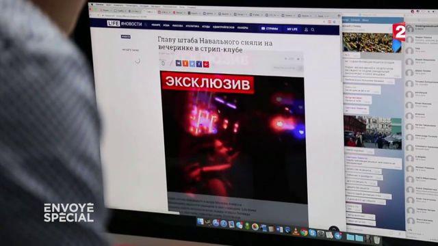 """VIDEO. L'art du """"kompromat 2.0"""", ou comment les médias pro-Poutine fabriquent des vidéos compromettantes.mp4"""