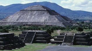 La pyramide du soleil, monument le plus imposant de Teotihuacan.  (Dagli Orti/The Picture desk)