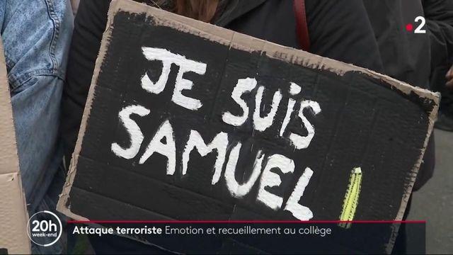 Attentat dans les Yvelines : l'émotion au collège du professeur assassiné
