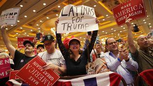 Meeting de Donald Trump à Las Vegas (Nevada), le 30 octobre 2016 (CHIP SOMODEVILLA / GETTY IMAGES NORTH AMERICA / AFP)