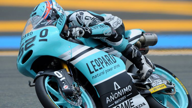 Danny Kent lors du GP de France. (JEAN-FRANCOIS MONIER / AFP)