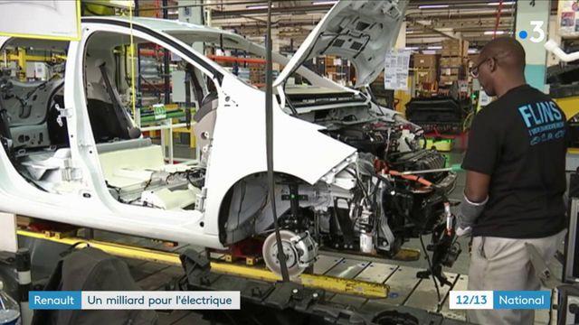 Renault : un milliard pour l'électrique