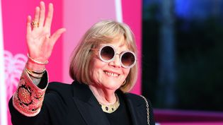 L'actrice anglaise Diana Rigg à Canneseries le 5 avril 2019.  (Valery Hache / AFP)