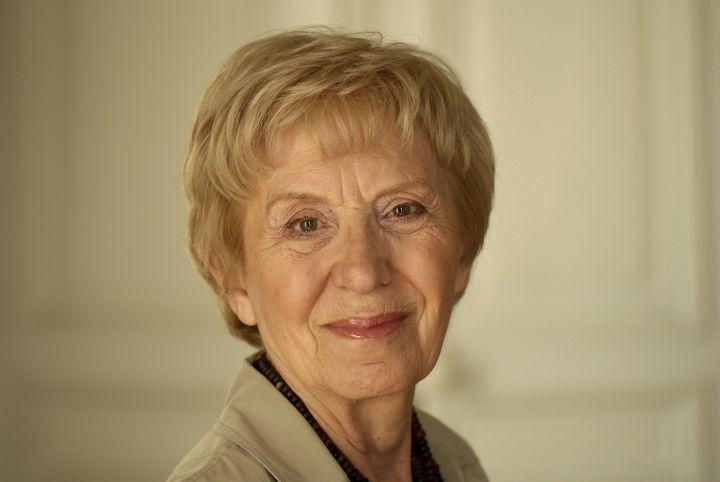 Michelle Perrot, historienne et professeure émérite, en 2009. (ULF ANDERSEN / AURIMAGES / AFP)