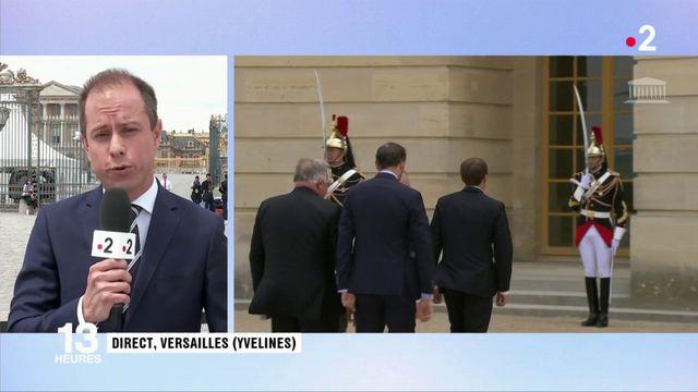 Politique : réunion des parlementaires en Congrès à Versailles