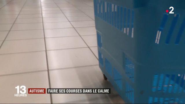 Autisme : un supermarché leur permet de faire des courses dans le calme