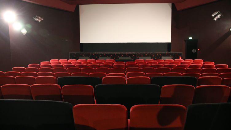 La salle de cinéma du Palace à Mulhouse. (JEAN-FRAN?OIS FREY / MAXPPP)