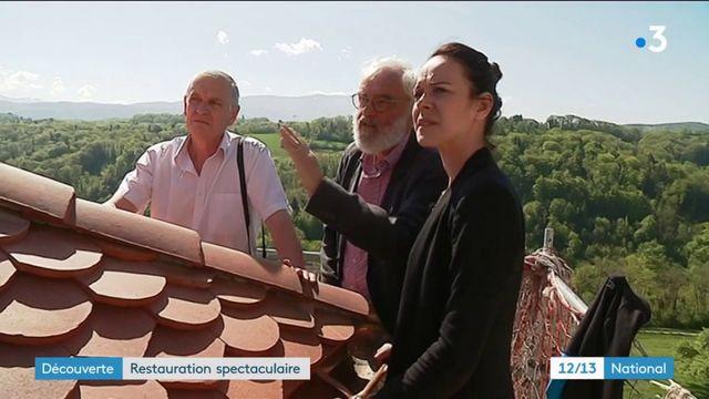 Patrimoine : la restauration spectaculaire du château de Montrottier